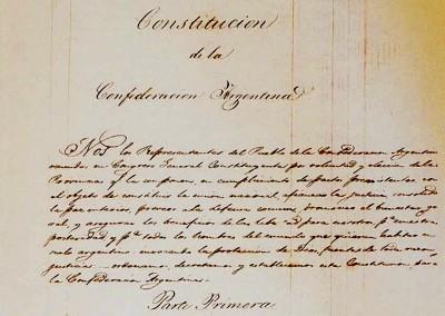 La historia de nuestra Constitución