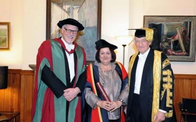 Chiqui González, Doctor Honoris Causa de la Universidad de Aberdeen, en Escocia