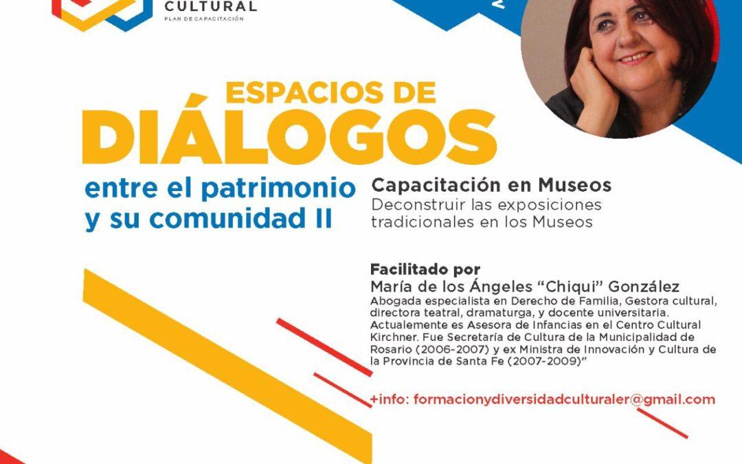 Espacios de diálogos entre el patrimonio y su comunidad II