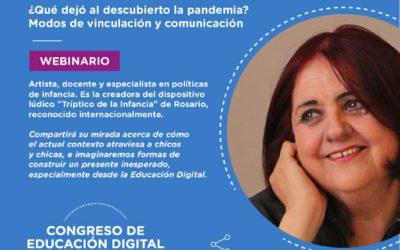Participación en el Congreso de Educación Digital de la Ciudad Autónoma de Buenos Aires