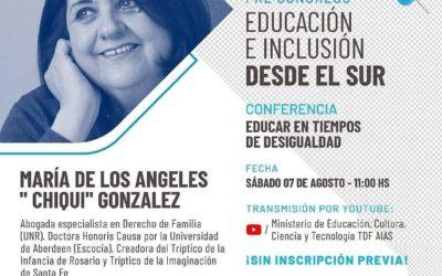 Participación en el Pre Congreso de Educación e Inclusión desde el Sur